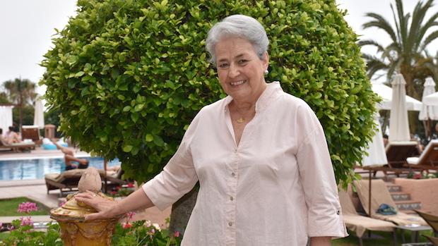 Isabel García Bardón en el hotel El Fuerte de Marbella