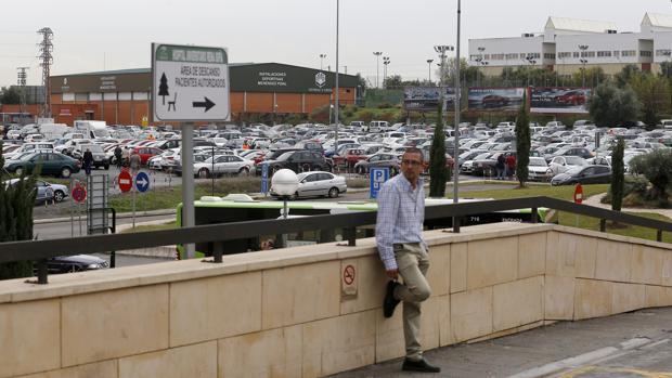 Imagen del aparcamiento del Hospital Reina Sofía de Córdoba