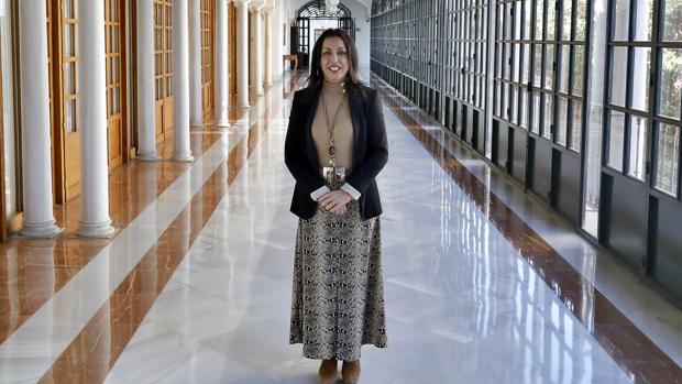 Marta Bosquet, nueva presidenta del Parlamento de Andalucía