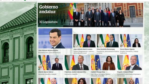 Hasta en lo que se ha cambiado está desactualizado al no incluir a Juan Bravo como nuevo consejero de Hacienda en sustitución de Alberto García Valera