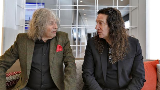 José Mercé y Tomatito, durante una entrevista