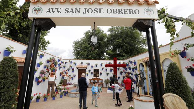 Cruz de San José Obrero, ganadora de 2018 en zonas modernas, que no compite este año
