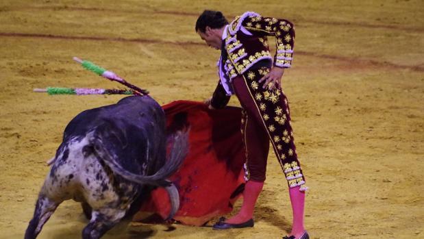 Finito de Córdoba durante una faena