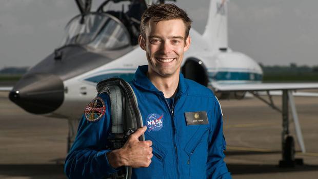 El hasta ahora astronauta de la NASA Robb Kulin, de 34 años