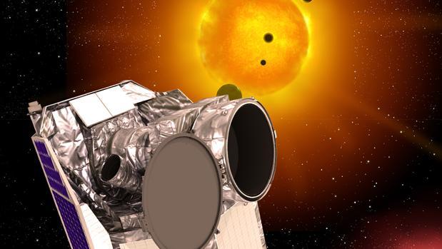 Representación del satélite Cheops. Medirá el tamaño de los exoplanetas por medio del método de los tránsitos