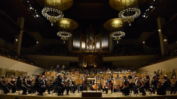 Interior del Auditorio Nacional