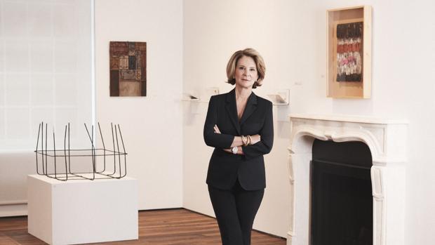 Estrellita Brodsky, en su fundación en Nueva York, Another Space