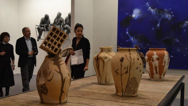 Obras de Barceló en Elvira González