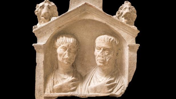 Estela del siglo I d.C. Museo Arqueológico Nacional de Aquilea