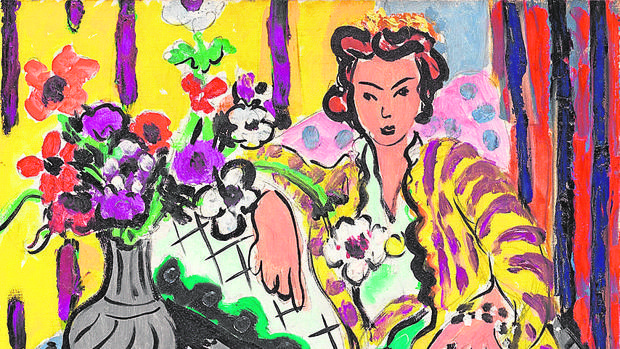 «Odalisca amarilla», de Matisse
