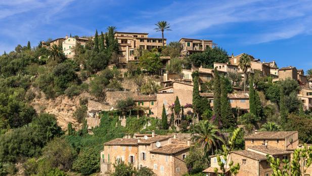Municipio de Deià, situado en la Sierra de Tramontana, en Palma de Mallorca