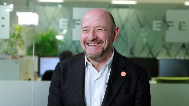 El co-director de ARCO, Carlos Urroz