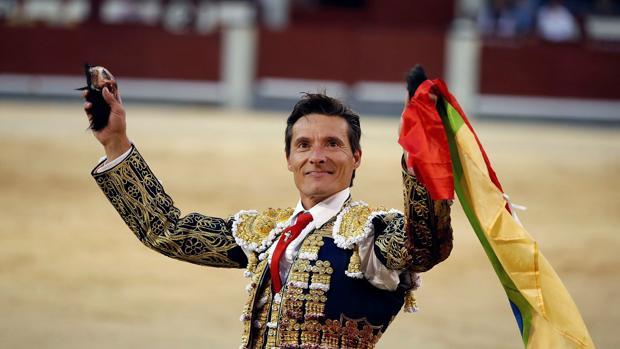 El torero Diego Urdiales triunfador en Madrid en la pasada Feria de Otoño