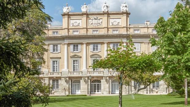Jardines principales del Palacio de Liria