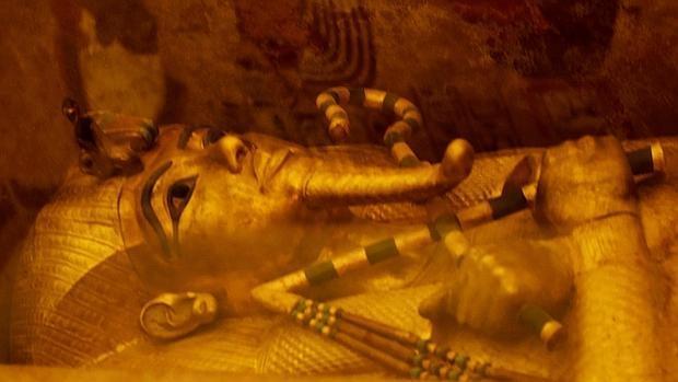 Sarcófago dorado de Tutankamón