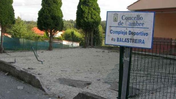 Complejo deporttivo que ofrece el Ayuntamiento de Cambre al Celta