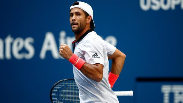 Verdasco celebra la victoria sobre Murray