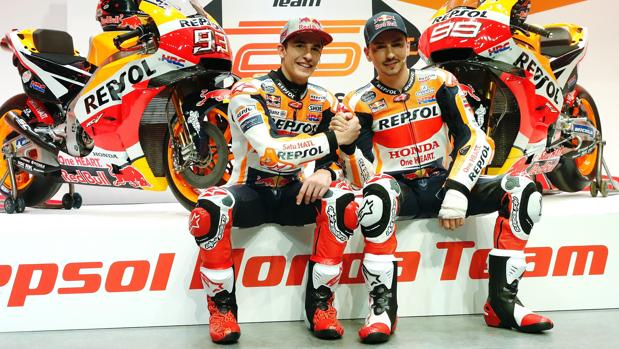 Márquez y Lorenzo