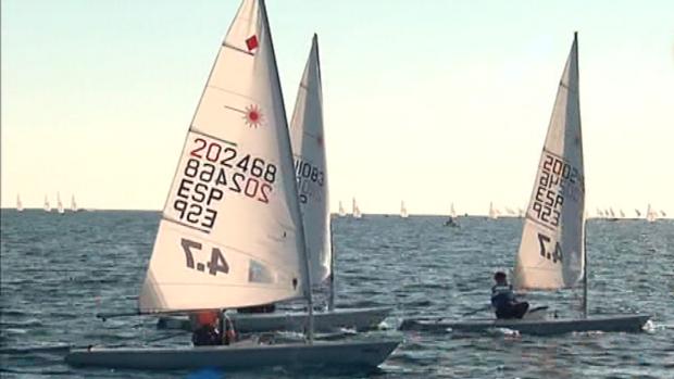 La competición se celebra en la Bahía de Cádiz.