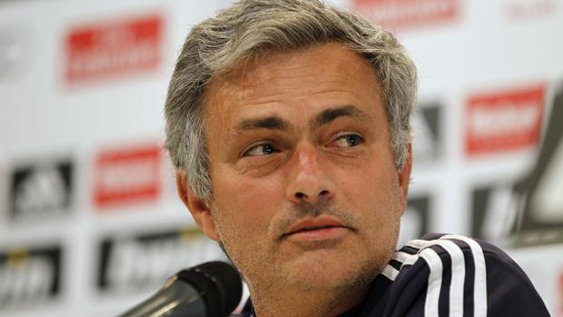 Una foto de Mourinho durante su etapa en el Real Madrid