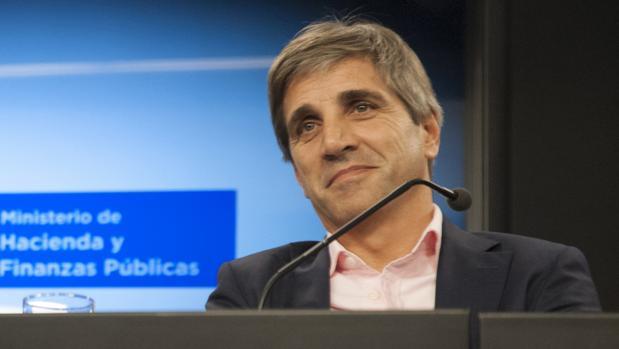 El ministro de fiananzas argentino, Luis Caputo, es uno de los participantes