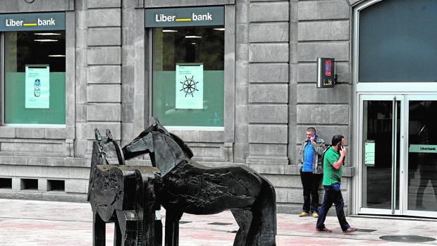 Sede de Liberbank en Oviedo