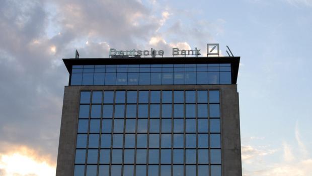 Fahada del Deutsche Bank en l avenida diagonal de Barcelona