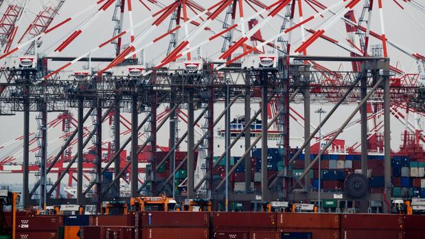 El puerto de Newark, uno de los más grandes de Estados Unidos,