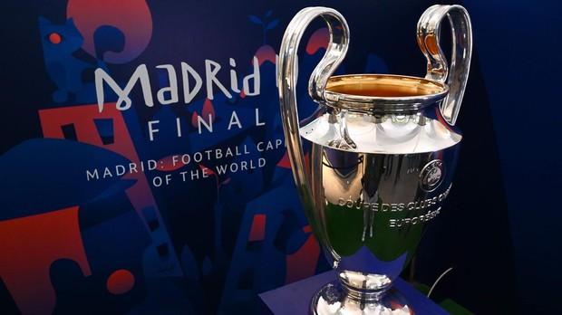 La final de la Champions 2019 se celebrará en Madrid el sábado 1 de junio