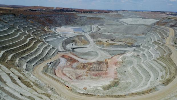 Estado actual de la corta minera, tras la finalización del Plan de Recuperación