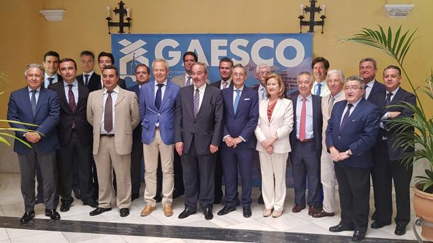 La nueva Junta directiva de Gaesco