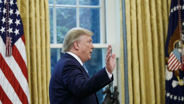 El presidente americano, Donald Trump