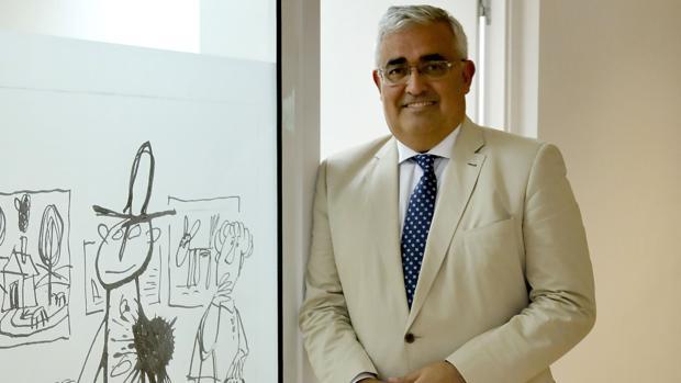 El consejero de Economía y Hacienda de la Junta de Andalucía, Ramírez de Arellano