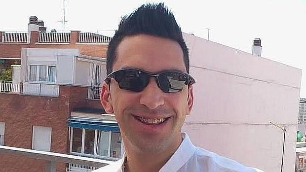 Jorge Diego Canepa, el presunto parricida de Carabanchel, en una foto de abril de 2014