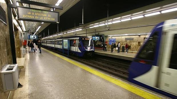 La estación de metro de Plaza de Castilla, en una imagen de archivo