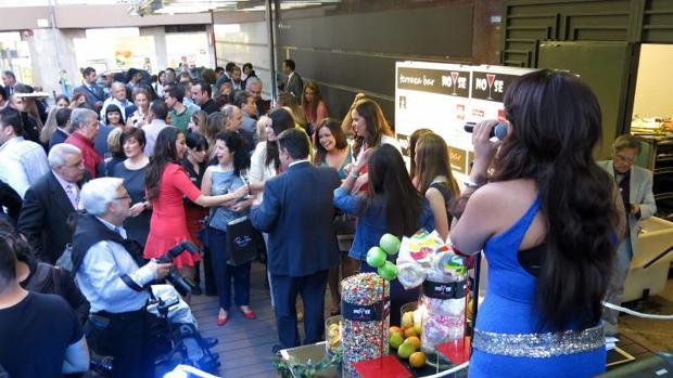 Apertura de una terraza en la avenida Maissonnave de Alicante.