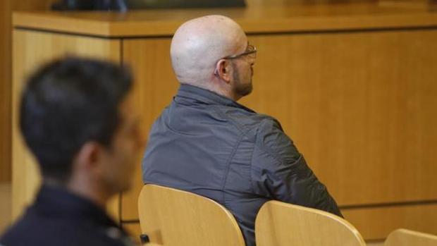 El condenado durante el juicio celebrado en septiembre de 2016 en la Audiencia de La Coruña
