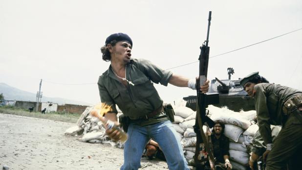 «Molotov Man», retrato de un guerrillero sandinista a las puertas de los cuarteles de Estelí