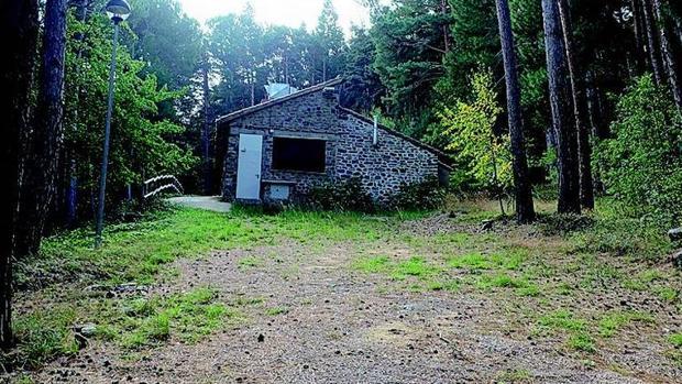 Una de las edificaciones integradas en el campamento «Fernando El Católico» del parque natural del Moncayo