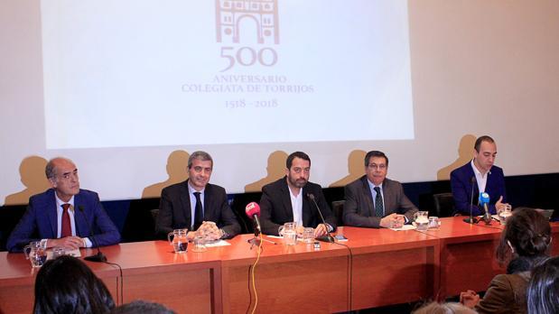 Jesús Carrobles, Álvaro Gutiérrez, Anastasio Arevalillo, Javier Nicolás y Fernando de Miguel