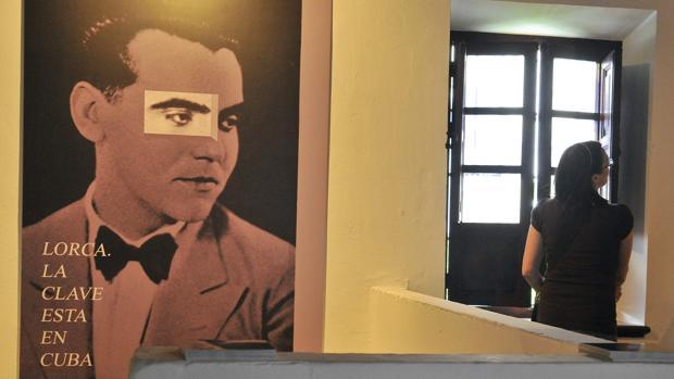 Exposición dedicada a la relación de Federico García Lorca con Cuba, en 2011