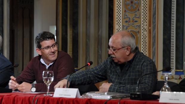Imatge de la presentació del documental
