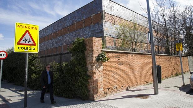 El antiguo Hospital del Aire, en Arturo Soria