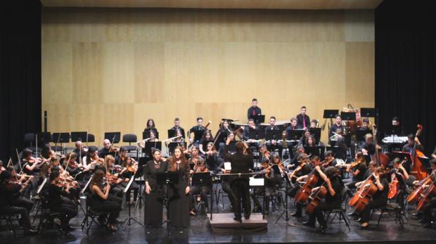 El encuentro de orquestas en el Auditori Teulada Moraira