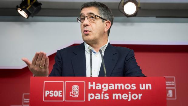 Patxi López, miembro de la dirección federal del PSOE