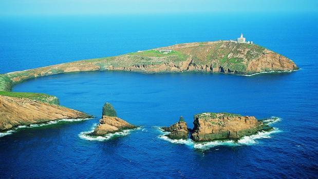 Imagen de Las Islas Columbretes tomada de su portal oficial