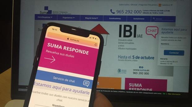 La web de SUMA es uno de los canales que más ha crecido en el uso por parte de los contribuyentes para la gestión y pago de sus tributos