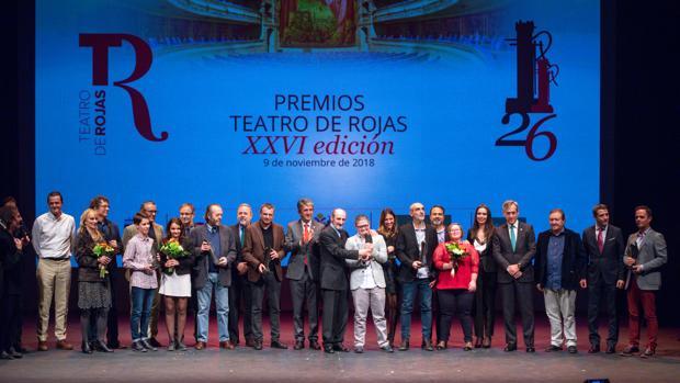 Los ganadores de los Premios Teatro de Rojas en su XXVI edición