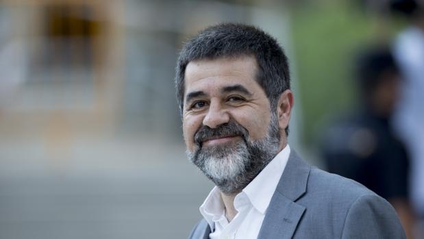 Jordi Sánchez, fotografiado en octubre de 2017 antes de declarar en la Audiencia Nacional