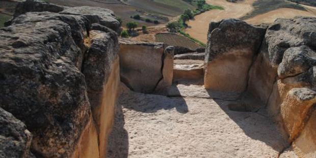 Yacimiento de la Cava, en El Valle de Altomira